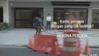 Iklan Rexona Invisible Dry 15s
