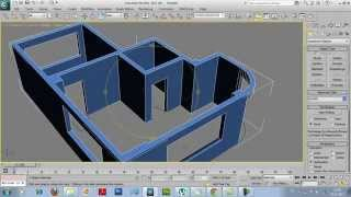 getlinkyoutube.com-3Ds Max Bina modelleme