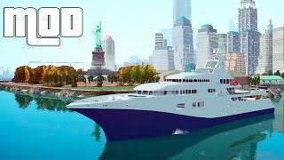 getlinkyoutube.com-Grand Theft Auto IV - Gameplay Drivable Yacht - GTAIV