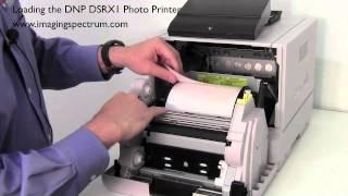 getlinkyoutube.com-Loading the DNP DSRX1 Photo Printer