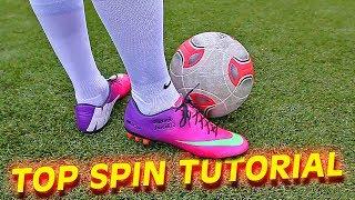 getlinkyoutube.com-How to shoot a Top Spin Dip Free Kick like Bale & Ronaldo by freekickerz