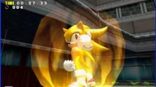 getlinkyoutube.com-Sonic Adventure DX - Super Sonic in Adventure Mode with Trainer 1/2