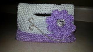 getlinkyoutube.com-CROCHET How To #Crochet Little Girls Handbag clutch Purse  crochet TUTORIAL #67