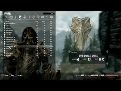Skyrim: The Best Warrior Armor in the game!