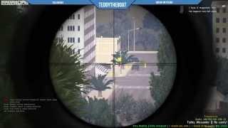 getlinkyoutube.com-Arma 3 Life Mod - Tactical Sniper Bank Robbery