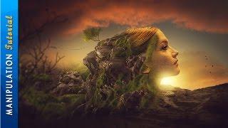 getlinkyoutube.com-Photoshop Manipulation Tutorial Surrealism Photo Effect