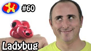 getlinkyoutube.com-Ladybug - Balloon Animal Lessons #60
