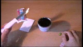 getlinkyoutube.com-Воронение ножа в кока-коле, в домашних условиях