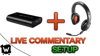 getlinkyoutube.com-How To Do A Live Commentary With Elgato HD Recorder - Setup w/ Gaming Headset