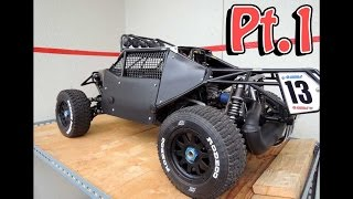 getlinkyoutube.com-HPI Baja Kraken Panel build Pt.1