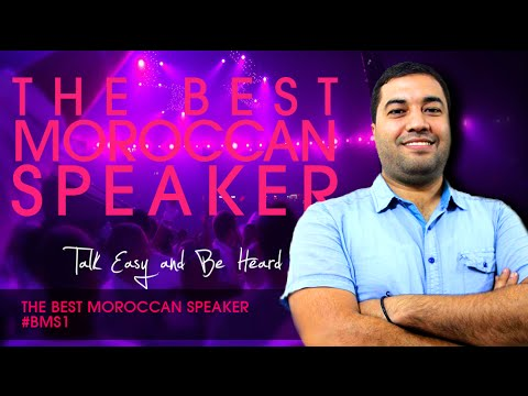 The Best Moroccan Speaker 2014 #BMS1