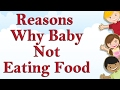 Reasons Why Child Not Eating Food || Interesting Videos