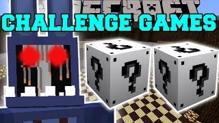 getlinkyoutube.com-Minecraft: OLD BONNIE CHALLENGE GAMES - Lucky Block Mod - Modded Mini-Game