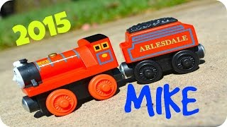 getlinkyoutube.com-Thomas And Friends 2015 MIKE Wooden Railway Toy Train Review