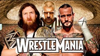 CM Punk vs Daniel Bryan Wrestlemania 31 Promo HD