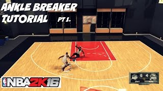getlinkyoutube.com-NBA 2K16| Ankle Breaker Tutorial pt 1- Pet Move Size up Badge - Prettyboyfredo