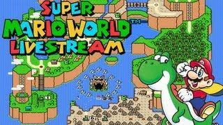 getlinkyoutube.com-Super Mario World 100% Live Stream