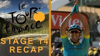 Tour de France 2018: Stage 14 Recap I NBC Sports width=