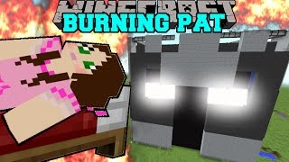 Minecraft: POPULARMMOS IS BURNING! (YOU WILL NOT SURVIVE!) Mini-Game