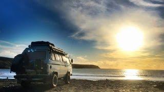 getlinkyoutube.com-VW T25 T3 Vanagon South Wales – Easter Camping Trip 2016