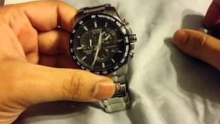 getlinkyoutube.com-Citizen chrono perpetual AT4008-51E review