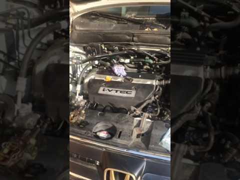 Honda cr-v замена прокладки Vtec течь масла(change gasket Vtec)