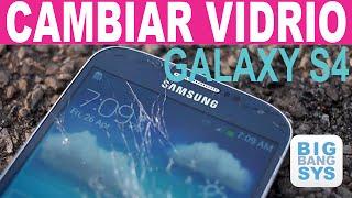 getlinkyoutube.com-Cambiar Vidrio Galaxy S4 - Proceso completo