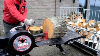 getlinkyoutube.com-Turbo Spalter Forst Live Messe 2013 Holzspalter - www.WEMATIK.de