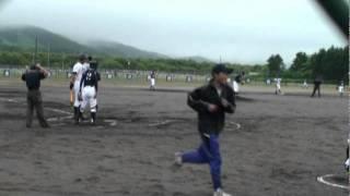 getlinkyoutube.com-中学 軟式野球 フェンス越えホームラン