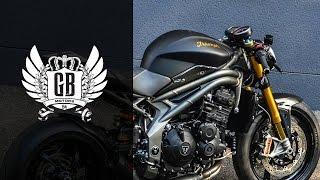 getlinkyoutube.com-Triumph Speed Triple R by GB Motors 94 | Streetfighter Custombike Review
