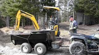 getlinkyoutube.com-trailer hydraulic dump