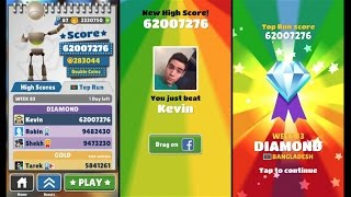 getlinkyoutube.com-Over 60 Million Points on Subway Surfers! No Hacks or Cheats!