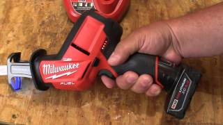 getlinkyoutube.com-Milwaukee M12 FUEL™ HACKZALL® Reciprocating Saw Kit