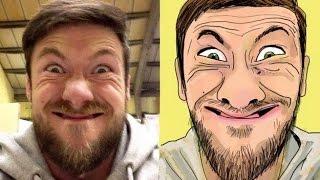 getlinkyoutube.com-كيفية صنع صورة كرتونية تشبهك اون لاين 2016 | تحويل الصورة الى كرتون بدون برامج