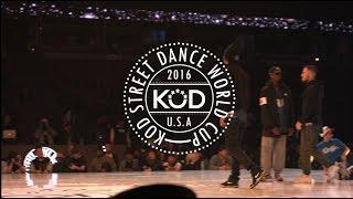 getlinkyoutube.com-K.O.D. World Cup 2016 Final Hip Hop KOREA/FRANCE - Les Twins, Waydi, Boubou - Criminalz Crew