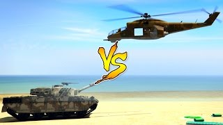 getlinkyoutube.com-SAVAGE VS RHINO TANK!!! | WHO WILL WIN? | GTA 5 Online