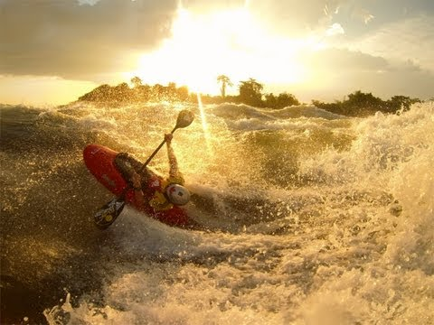 2013 Big Wave kayaking: White Nile, Africa- Nick Troutman