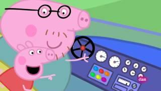 getlinkyoutube.com-Peppa Pig   El coche nuevo