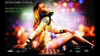 getlinkyoutube.com-Dennis Smile & Candelitta @ Live Club Amnesia [Plovdiv] (26.Sept.2014) /TECHNO MIX/