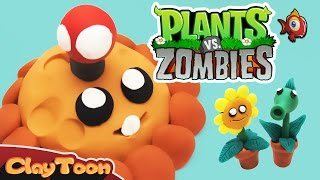 plants vs zombies characters | Polymer clay tutorial