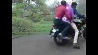 In road bike rape person in live