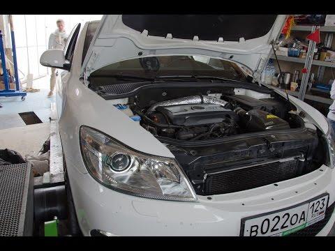 Dynoday Octavia а5 RS - DVX Performance stage1+