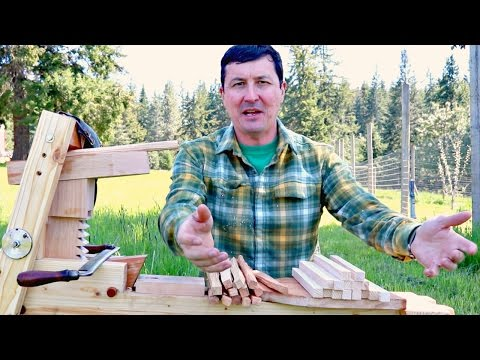 Handmade Shave Horse - WILL IT WORK!!!