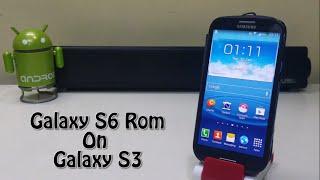 getlinkyoutube.com-Install Galaxy S6 Rom On Samsung Galaxy S3!