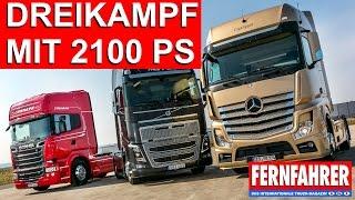getlinkyoutube.com-Vergleich der Spitzenmodelle von Mercedes, Scania und Volvo