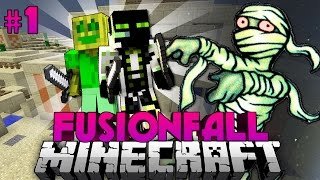 getlinkyoutube.com-AGGRESSIVE Redstone-MUMIEN?!!? - Minecraft Fusionfall #001 [Deutsch/HD]