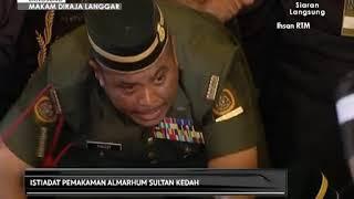 Nobat mengiringi istiadat pemakaman Almarhum Sultan Kedah
