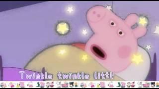 getlinkyoutube.com-Peppa Pig Twinkle, Twinkle, Little Star Song - Nursery Rhymes for Kids