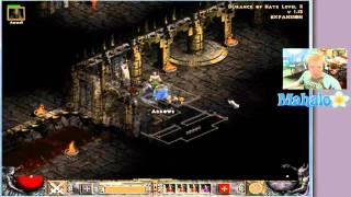 Diablo 2 Lord of Destruction - Paladin Walkthrough - Act 3.13 - Mephisto