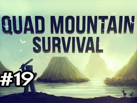 Minecraft: Quad Mountain Survival w/Nova Ep.19 - WEREWOLF ATTACK!!